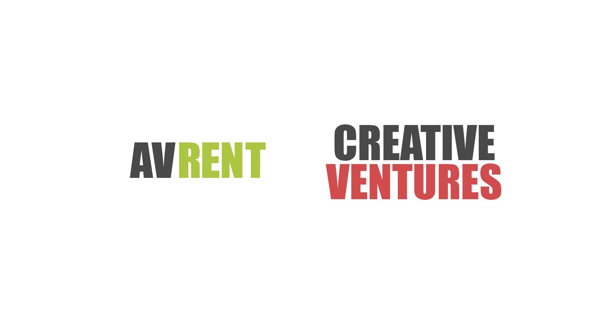 Avrent en Creative ventures Logo