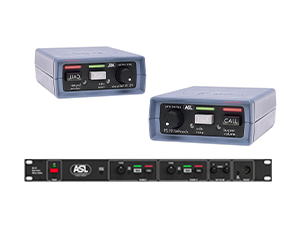 ASL Intercom + 6x Beltpacks