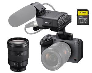 Sony ILME-FX3 / 24-105 F4 Lens / 128GB TOUGH SDXC