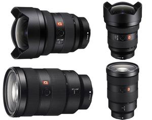 Sony FE 12-24 / 24-70 F2.8 Gold Master Lens Bundle