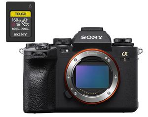Sony ILCE-1 Alpha 1 Camera Body w/ 160GB CFexpress A Card