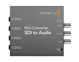 Blackmagic Converter Audio to SDI
